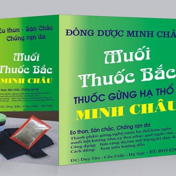 Đông Y Minh Châu là một thương hiệu sản xuất muối thảo dược được nhiều chị em tin chọn.